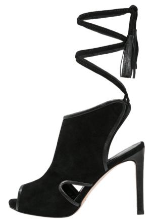 Franco Russo Napoli Sandaler med høye hæler nero