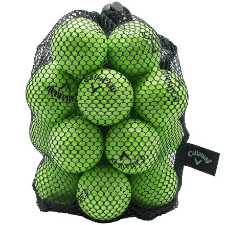 Callaway HX 18 telle praksis golfballer - grønn