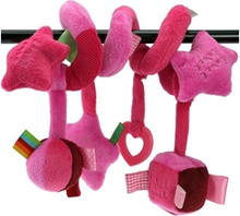 Label label spiral toy pink