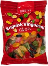 Nordthy Engelsk Vingummi Original 900 g