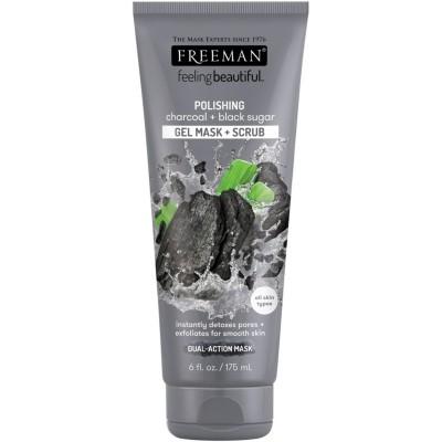 Freeman Charcoal & Black Sugar Gel Mask & Scrub 175 ml