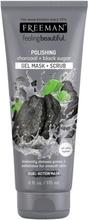 Freeman Kohle & Schwarzer Zucker Maske & Peeling 175 ml