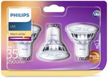 Philips LED-spotlight 3 st Classic 4 W 250 lumen 929001363886