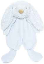 Lolli bunny blå snuttefilt, 25 cm, Teddykompaniet