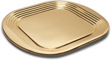 Form Brass Tray - Gold