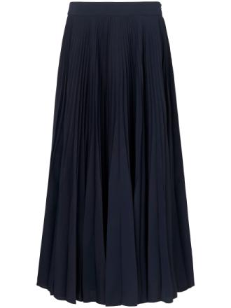 Plisserad kjol från Uta Raasch blå