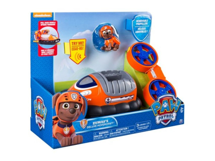 Paw Patrol feature vehicle - Zuma's deluxe hoovercraft