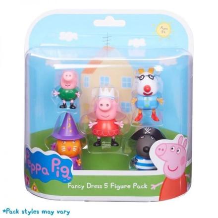 Peppa Gris - Figurpakke 5pk