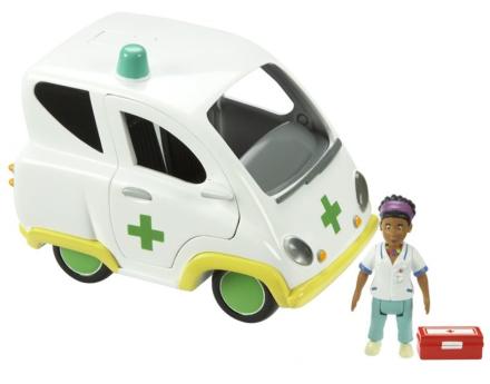 Brannmann Sam - Ambulanse m/Helen-figur