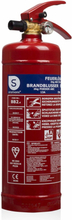 Smartwares Pulversläckare BB2 2 kg klass ABC stål 10.014.68