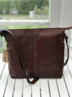 Biori Väska, brunt läder