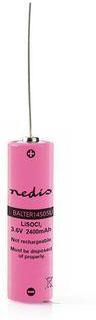 Nedis Litium Tionylklorid Batteri ER14505 | 3.6 V | Litium-Tionylklorid- | ER14505 | 2400 mAh | Antal batterier: 1 st. | Blister | ER14505 | Rosa