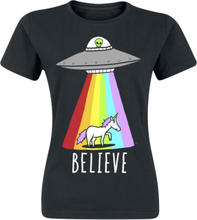 Goodie Two Sleeves - Believe -T-skjorte - svart