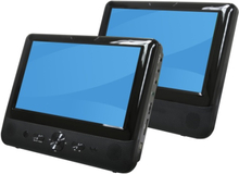 "9inch Denver MTW-984 + Extra 9"" Screen Twin"