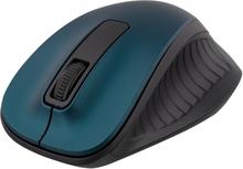 DELTACO trådløs optisk mus, 1200 DPI, Blå