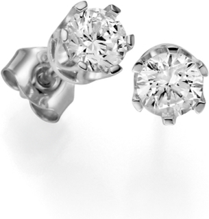 Örhängen 18k vitguld Donau 0,50 ct diamant