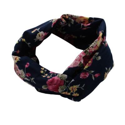Everneed Annemone Hiuspanta Navy Floral 1 kpl 1 kpl