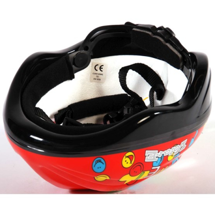 Volare - Fiets/Skate Helm Deluxe - Smileys Red