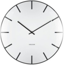 Glass Dome Wall Clock