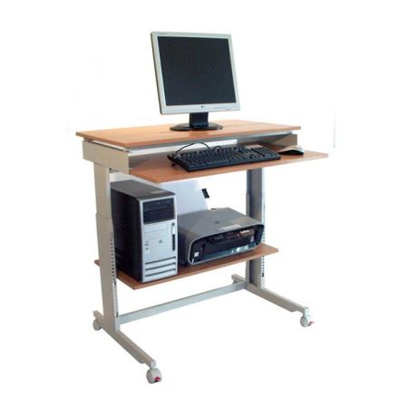 Computerbord Click 900x500mm Bøg