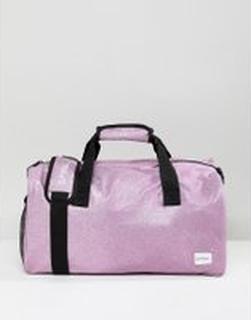 Spiral - Lilaglittrig duffelväska för gymmet - Lilac glitter