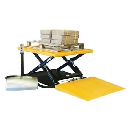 Løftebord lavt 1000 kg