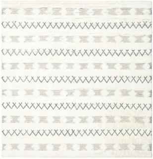Shedir - White tæppe 250x250 Moderne, Kvadratisk Tæppe