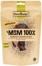 Rawpowder MSM destillerad 250 g
