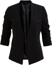 VILA 3/4 Sleeved Formfitted Blazer Women Black