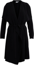 OBJECT COLLECTORS ITEM Long Draped Jacket Women Black