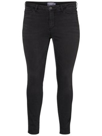 JUNAROSE Slim Fit Jeans Women Grey