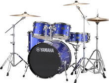 Yamaha Rydeen Studio drumset - with stands and cymbals - Fine Blue