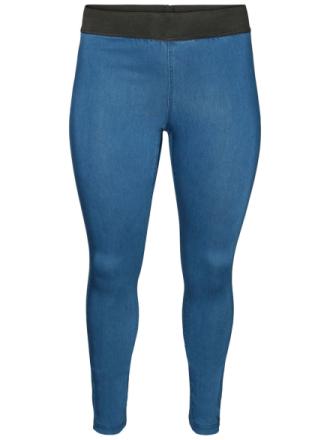 JUNAROSE Slim Fit Jeggings Women Blue