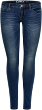 ONLY Onlcoral Superlow Skinny Fit Jeans Women Blue