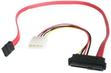 SAS 29 Pin to SATA Cable with LP4 Power