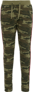 NAME IT Kids Camo Sweat Pants Kvinna Grön