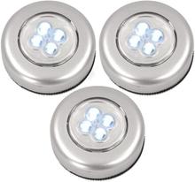 Touch LED-valot - 3-pakkaus