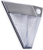 SMARTWARES Soldriven vägglampa med PIR-sensor pyra