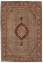 Tabriz 50 Raj med silke matta 205x299 Persisk Matta