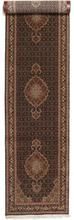 Tabriz 50 Raj med silke matta 82x410 Orientalisk, Avlång Matta