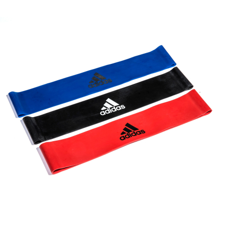 Adidas Mini Stretchband (3 stk) Træningselastikker - Apuls