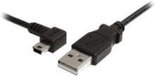 Mini USB Cable - A to Left