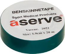 Aserve Benskinne Sportstape Grøn