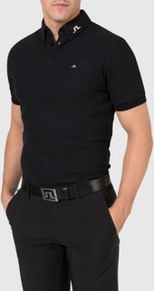 J.LINDEBERG Rubi B.d Regular Jl Tour Pique Polo Shirt Man Svart