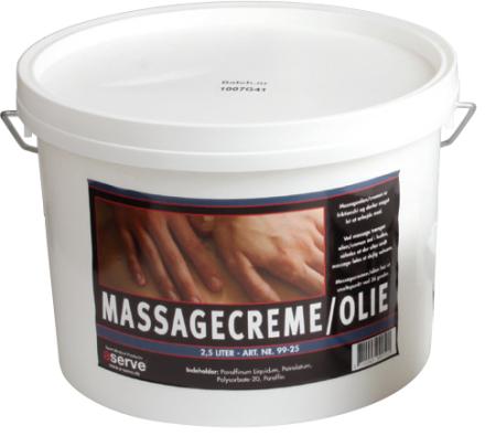 Aserve Massagecreme (10 liter)