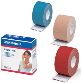 BSN Medical BSN Kinesiologi Tape (2,5cm x 5m) Rød