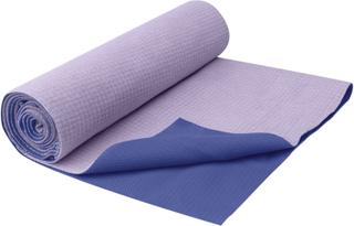 Gaiam No-Slip Yoga Håndklæde Lilla