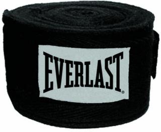 Everlast 2,75m Handwraps Boksebandage Sort