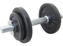 Finnlo Dumbbell Set Black Justerbar Håndvægt 10kg