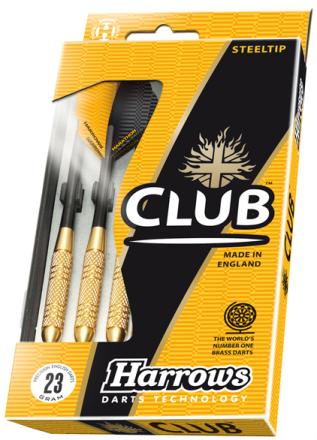 Harrows Club Brass Steeltip Dartpile